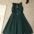 Отдается в дар Зелёное платье 46 размер