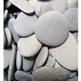 Отдается в дар Несколько вёдер плоских камней (3-6 см) для интерьера или сада