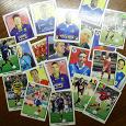 Отдается в дар Карточки наклейки «Футбол»