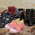 Отдается в дар обувь детская 27-28 р-р