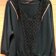 Отдается в дар Блуза женская, синтетика, размер 58