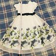 Отдается в дар Платье нарядное девочке (128)