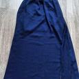 Отдается в дар Сарафан тёмно-синий, шифоновый, размер 44