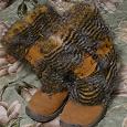 Отдается в дар Сапоги — унты зимние замшевые 37 размер