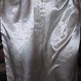 Отдается в дар Атласные брюки -пижама белые