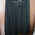 Отдается в дар Черная блузка 48-50