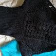 Отдается в дар Манишка, свитер
