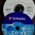 Отдается в дар Диски CD-R чистые 9 шт