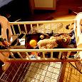 Отдается в дар Кроватка-качалка кукольная игрушечная