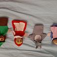 Отдается в дар Красная шапочка пальчиковые куклы