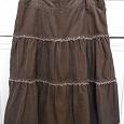 Отдается в дар Вельветовая юбка Эсприт