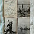 Отдается в дар Набор открыток Мурманск 1966