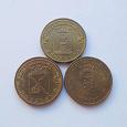 Отдается в дар Монеты «Города воинской славы»: Феодосия, Полярный, Петрозаводск