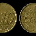Отдается в дар Монета Италия 10 евроцентов (2002)