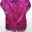 Отдается в дар Блуза 48-50 р из шелка с эффектом жатости!
