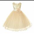 Отдается в дар Платье бальное для принцессы новое рост 116-122