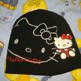 Отдается в дар Шапочка Hello Kitty на 2-3года.