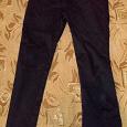 Отдается в дар Черные брюки размер44