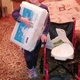 Отдается в дар Кресло-коляска инвалидная