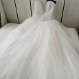 Отдается в дар Свадебное платье 46