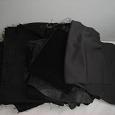 Отдается в дар Кусочки черной ткани на ХМ