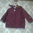 Отдается в дар Детская куртка-штормовка на 2 года