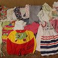 Отдается в дар 2 пакета одежды для девочки