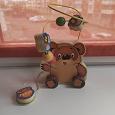 Отдается в дар Винни-Пух деревянная игрушка лабиринт для малыша