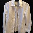 Отдается в дар Белая женская рубашка 48 размер
