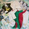 Отдается в дар Одежда для новорожденного размер от 50 до 68 б/у