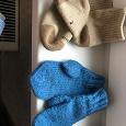 Отдается в дар Детские носочки из верблюжьей шерсти и варежки