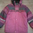 Отдается в дар Тёплая демисезонная куртка для девочки на 9-11 лет