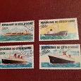 Отдается в дар Почтовые марки Кот-д'Ивуар и Польши