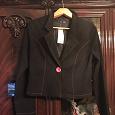 Отдается в дар Черный пиджак 42-44 новый