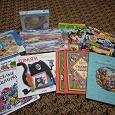 Отдается в дар Пакет книг и игрушек
