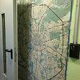 Отдается в дар Карта Москвы настенная