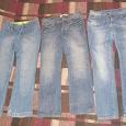 Отдается в дар 3 джинсов жен. размер 44