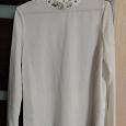Отдается в дар Белая нарядная блуза abby, 46 размер.