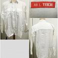 Отдается в дар Рубашка женская белая, р-р 54-56, средний рост