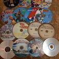 Отдается в дар DVD диски много мультфильмов