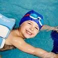 Отдается в дар шапка для плавания детская