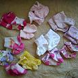 Отдается в дар Носочки и пинетки для девочки до года