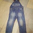 Отдается в дар Комбинезон джинсовый 98-104 см