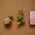 Отдается в дар фигурки статуэтки зелёные