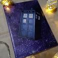Отдается в дар Обложка для паспорта «Доктор Кто»