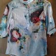 Отдается в дар Женская блузка, 42-44р, новая, из жатого шифона.
