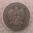 Отдается в дар Польша 10 грошей 2007 года