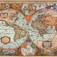 Отдается в дар Карта мира пазл
