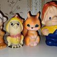 Отдается в дар Резиновые игрушки СССР