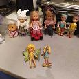 Отдается в дар разные куклы и аксессуары